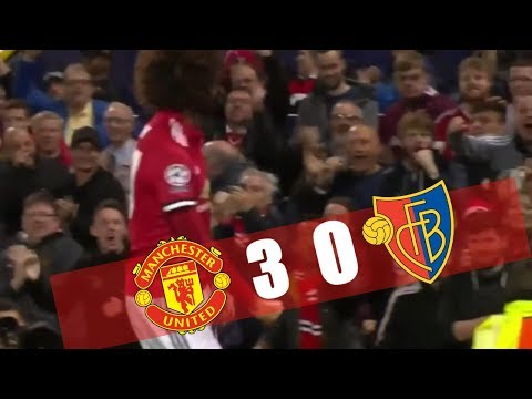Manchester United vs Basel 3-0 - All Goals & Highlights 12/09/2017 HD