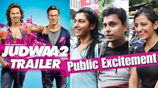 Judwaa 2 TRAILER - Public Super EXCITED For Varun Dhawan's Double Role