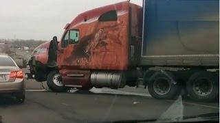 Аварии фур, грузовиков Ноябрь 2014 ч. 2