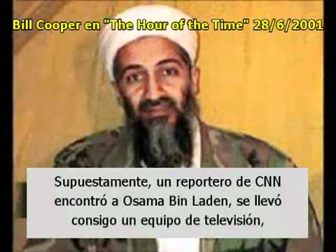 Bill Cooper predijó el 11S y la culpabilidad recaída sobre Bin Laden
