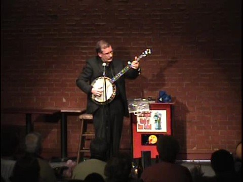 Dave Cottrell Performs At Comedy Caravan