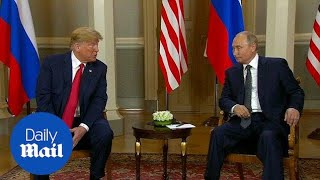 Trump congratulates Putin on a 'really great' World Cup