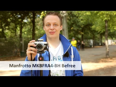 Manfrotto Befree (MKBFRA4-BH) - Kompaktes Dreibeinstativ im Test [Deutsch]