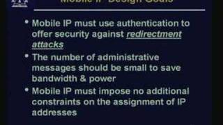 Lecture - 29 IP Version 6&Mobile IP