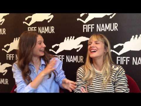 Melanie Laurent - Mélanie Laurent est venue au FIFF accompagnée de l'actrice Joséphine Japy pour présenter son deuxième long-métrage en tant que réalisatrice,