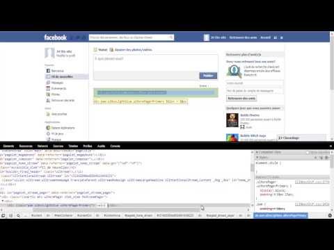 comment modifier pseudo facebook