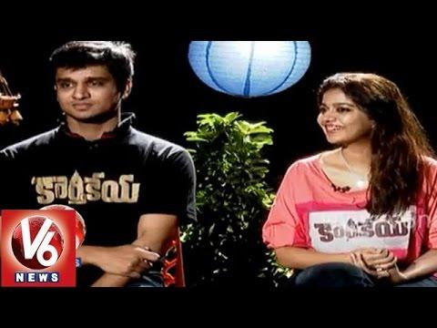 Karthikeya Nikhil Swathi Diwali special chit chat with v6