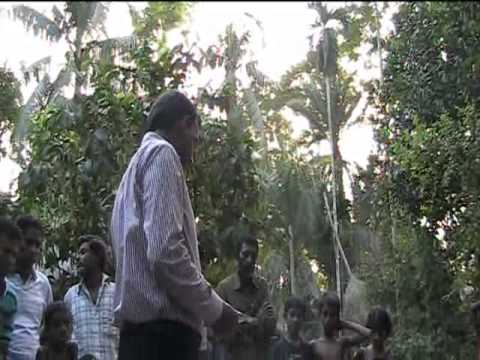 HEED Microfinance - demonstration of solar panel system on Bhola Island - Bangladesh
