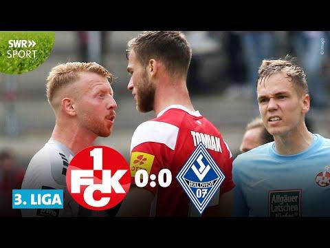 3. Liga: Vier Rote Karten im Derby zwischen FCK und Waldhof | SWR Sport