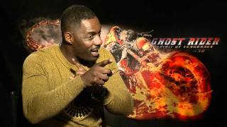 Ghost Rider: Spirit Of Vengeance: Idris Elba Interview