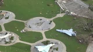 כך השמיד הוריקן 'מייקל' 12 מטוסי קרב