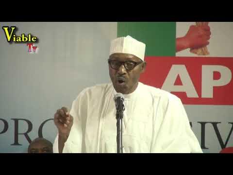 FULL VIDEO : Buhari Blows Hot, Seeks Probe of INEC Boss Incompetence