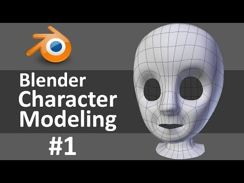 blender - Starting a new character today! I go over bringing reference images into Blender, the mirror modifier, and establishing good edge flow for facial animation. ...