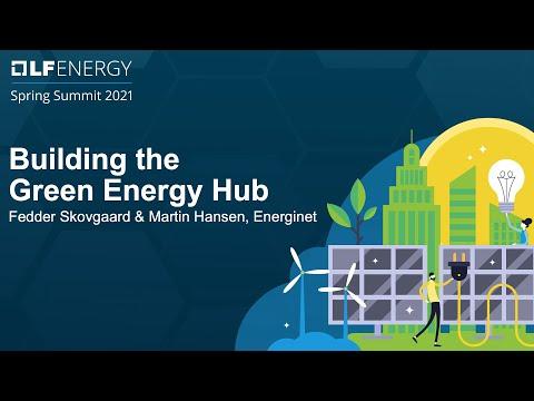 Building the Green Energy Hub - Fedder Skovgaard & Martin Hansen, Energinet