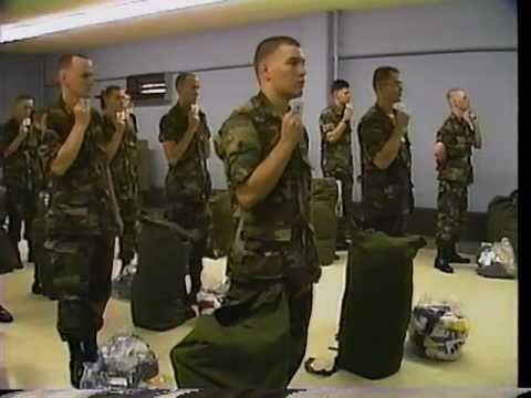 US Army Basic Training Fort Leonard Wood - 1986