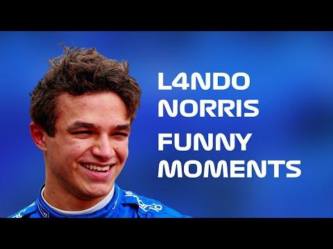 Lando Norris - Funny Moments