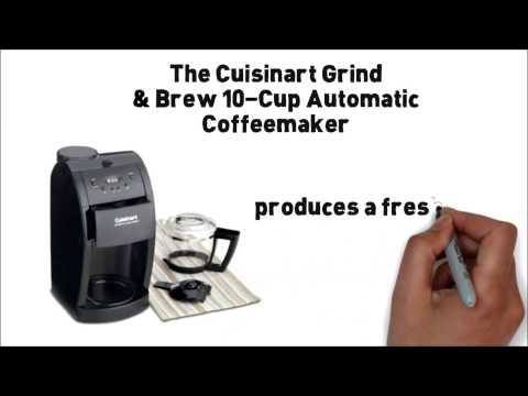 Cuisinart DGB 600BC Grind & Brew, Brushed Chrome