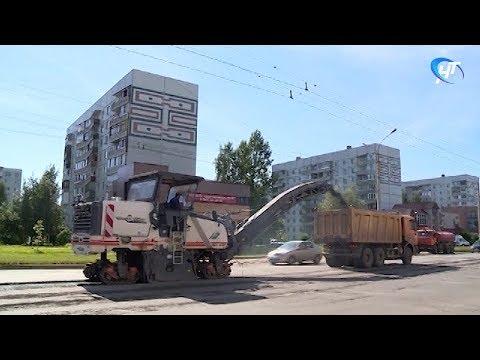 Ремонт дорог продолжается в столице региона