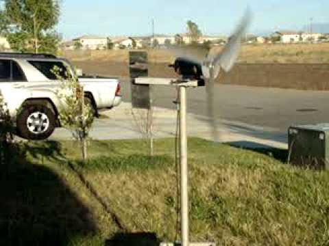 DIY Wind Turbine – The Whole Setup