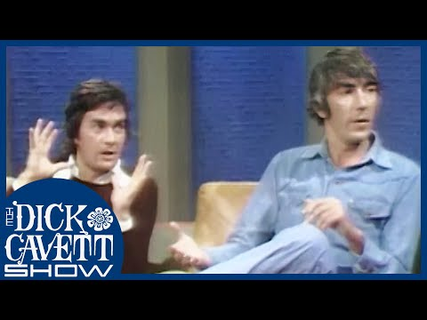 Peter Cook and Dudley Moore on British Censorship | The Dick Cavett Show