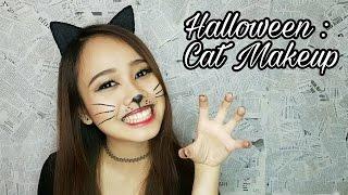 Halloween : Cat Makeup   Savira Millenita
