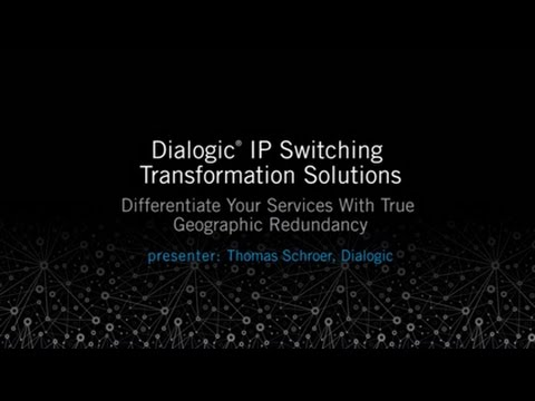 Dialogic® ControlSwitch⢠System IMS-Ready MGCF Softswitch