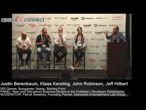 New and Disruptive Business Models in the Publisher Developer Relationship | PANEL