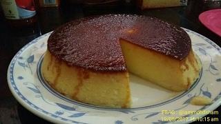 Resepi : Puding Roti Karamel 30 Minit