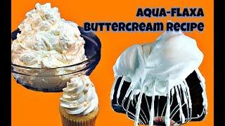 AquaFLAXA Swiss Buttercream Recipe || Gretchen's Bakery by Gretchen's Bakery
