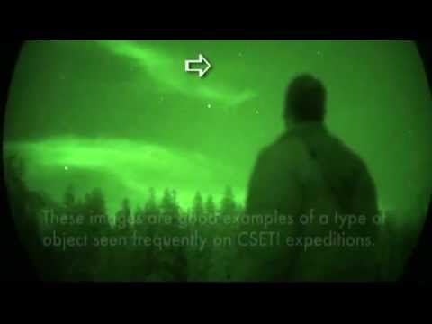 cseti - Here is footage of CSETI Team / Steven M Greer using his laser to make peaceful contact with Galactic Federation of Light. www.SiriusDisclosure.com www.CSETI...