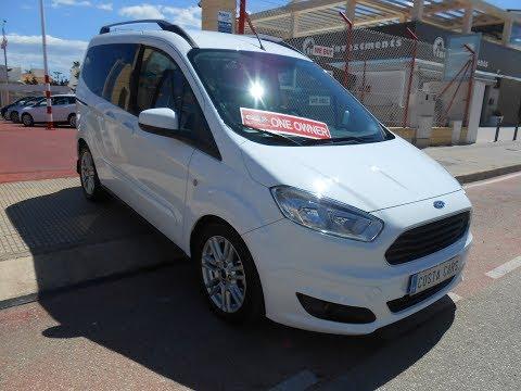 See video Ford TOURNEO 1.5 TDCI TITANIUM