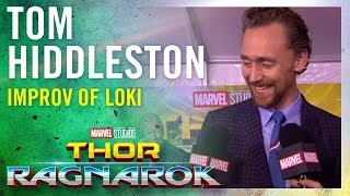 Video Tom Hiddleston On the Improv in Loki -- Marvel Studios' Thor: Ragnarok Red Carpet Premiere MP3, 3GP, MP4, WEBM, AVI, FLV Juli 2018