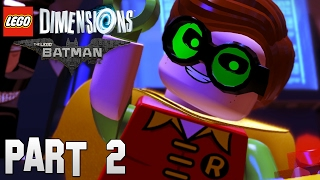 The Lego Batman Movie Part 2 - Robin & Nightwing | Let´s Play Lego Dimensions Deutsch