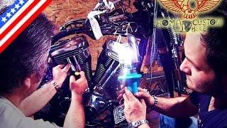 10. Harley Davidson EVO engine rebuild tutorial - ep9 Roma Custom Bike