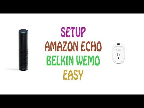 How to setup Belkin WeMo Insight & Amazon Echo with Alexa