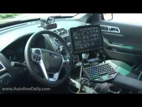 Ford's New Police Interceptors