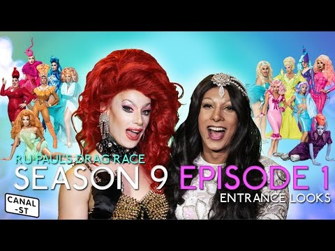 RuPaul's Drag Race Season 9 Episode 1 | Oh My Gaga | Entrance Looks - Weekly Round Up