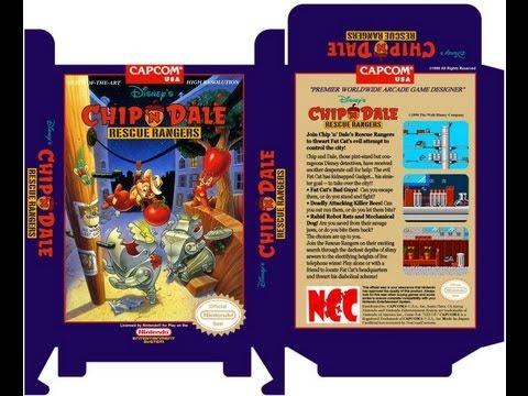 Chip 'n Dale Rescue Rangers - NES (Dale Gameplay) (Полное прохождение)