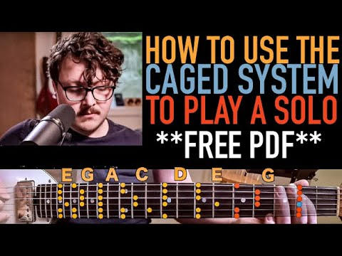 Minor Pentatonic Scales in the CAGED System