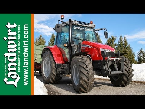mf - Die Massey Ferguson-Traktoren der Serie 5400 haben sich in Österreich als Bestseller erwiesen. Trotzdem steht schon zwei Jahre nach der Markteinführung die N...