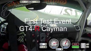 In-Car ROAR before the Rolex 24 2016 Porsche Cayman GT4