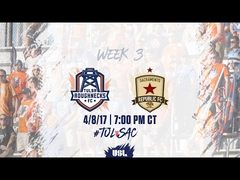 USL LIVE - Tulsa Roughnecks FC vs Sacramento Republic FC 4/8/17