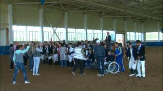 В Усть-Каменогорске прошёл II чемпионат Республики Казахстан по паралимпийской выездке и открытые личные соревнования по конкуру.