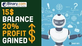 20% Profit Gainer | Digit Over Bot For Binary com Lower Account Balance