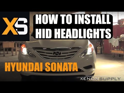 Hyundai Sonata HID – How to Install HID (w/ Wiring Harness) 2011+