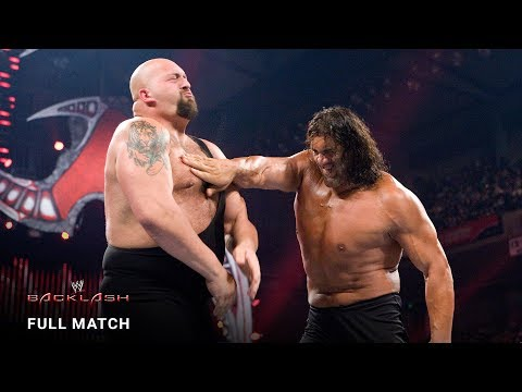 FULL MATCH - Big Show vs. The Great Khali: Backlash 2008