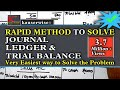 Introduction to accounting [Journal- Ledger n Trial balance] simple method(by kauserwise)