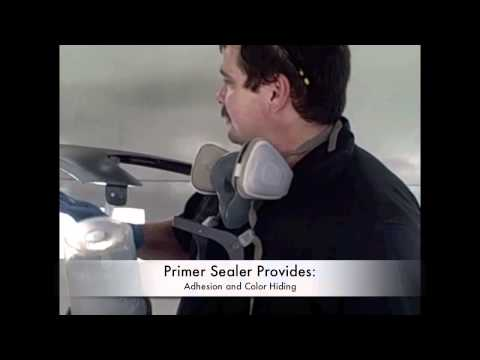 0 Auto Paint Training   Sealer and Base Coat