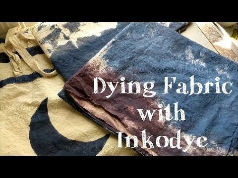 DIY | INKODYE | Dying Fabrics for My Home