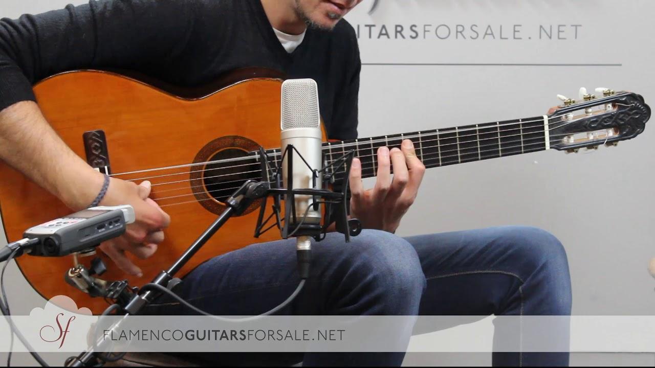 """VIDEO TEST:  Jerónimo Peña 1983 """"Edición Especial"""" classical guitar for sale"""